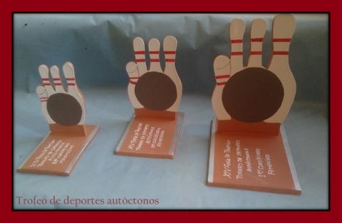 Trofeo Bolos Deportes Autóctonos
