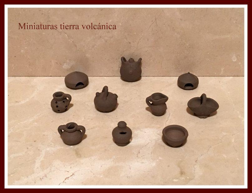 Miniaturas Tierra Volcánica