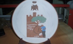 Plato Trofeo Orientación