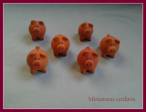 Miniaturas Cerdito