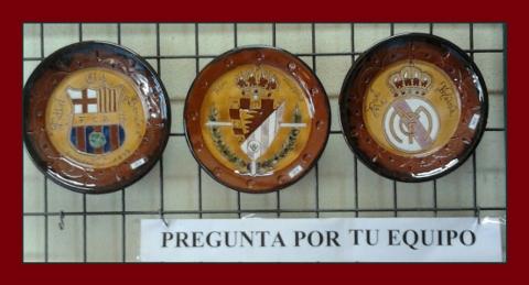 Platos Escudo de Fútbol