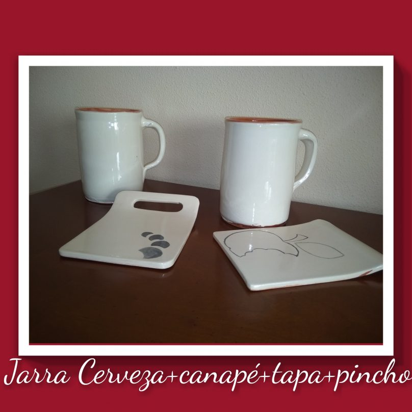Jarra Cerveza Canapé Tapa Pincho