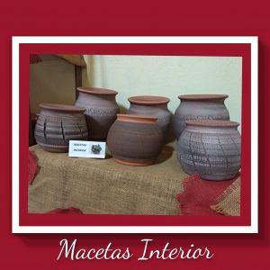 Macetas Interior